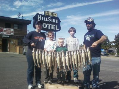 Missouri River Fishing 9/24/2011