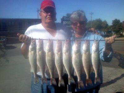 Missouri River Fishing 9/26/2011