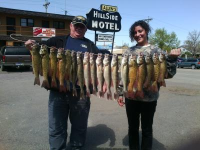Missouri River Fishing 4-21-12