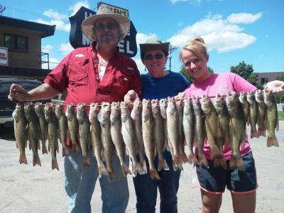 Missouri River Fishing 7/1/2012