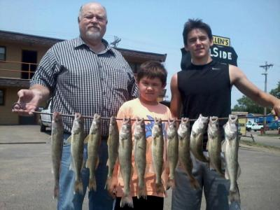 Missouri River Fishing 7/2/2012