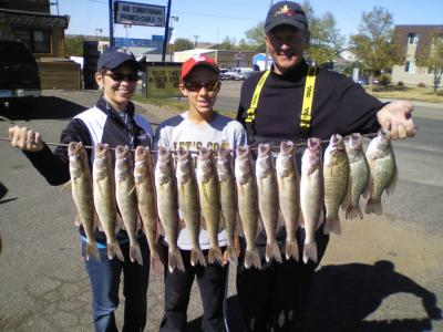 Missouri River Fishing 9/22/2012