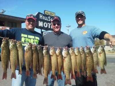 Missouri River Fishing 9/24/2012