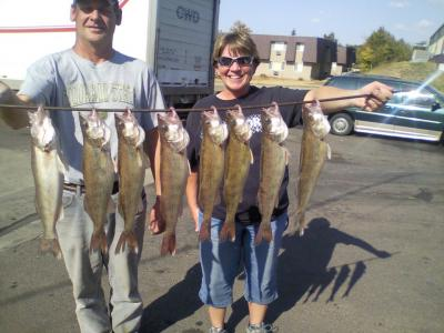 Misssouri River Fishing 9/27/2012