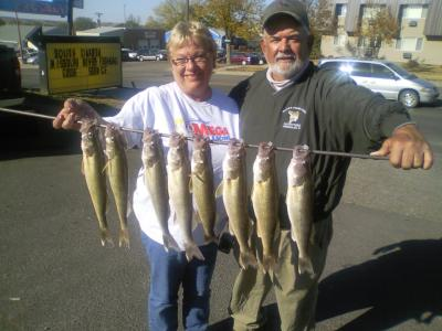 Missouri River Fishing 9/29/2012