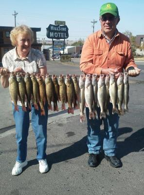 Missouri River Fishing 9/30/2012