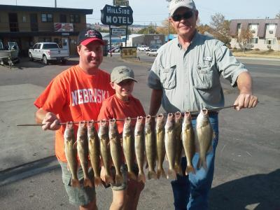 Missouri River Fishing 10/1/2012