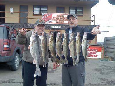 South Dakota Missouri River Fishing 4/1/2013