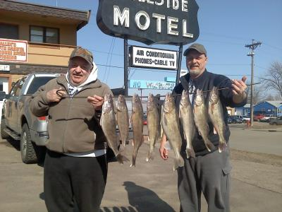 South Dakota Missouri River Fishing 4/2/2013