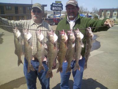South Dakota Missouri River Fishing 5/9/2013