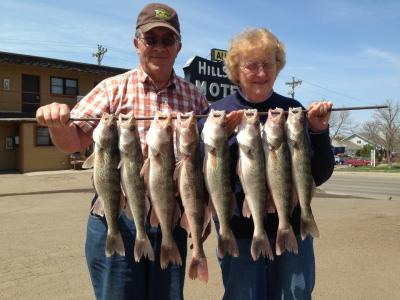 South Dakota Missouri River Fishing 5/10/2013