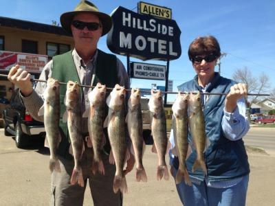South Dakota Missouri River Fishing 5/12/2013