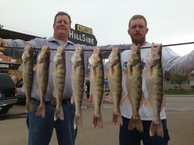 South Dakota Missouri River Fishing 5/16/2013
