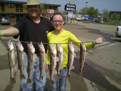 South Dakota Missouri River Fishing 5/17/2013
