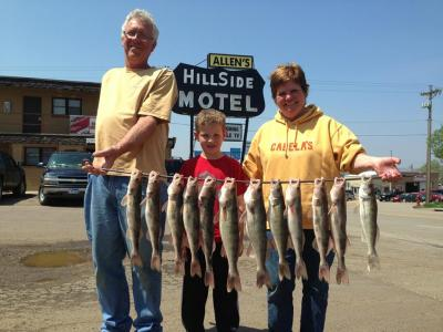 South Dakota Missouri River Fishing 5/18/2013