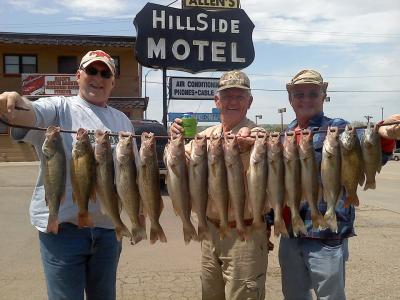 South Dakota Missouri River Fishing 6/3/2013