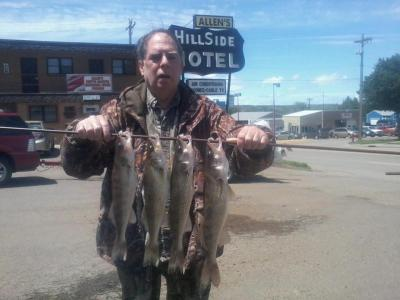 South Dakota Missouri River Fishing 6/4/2013