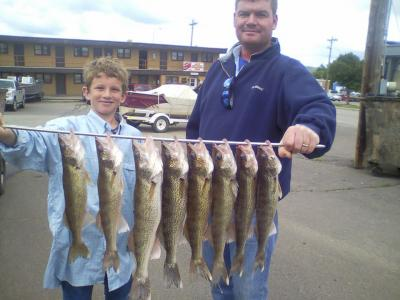 South Dakota Missouri River Fishing 6/5/2013