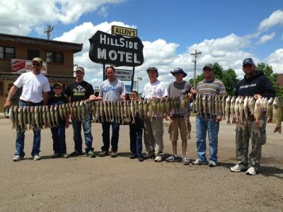 South Dakota Missouri River Fishing 6/6/2013