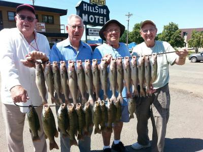South Dakota Missouri River Fishing 7/9/2013