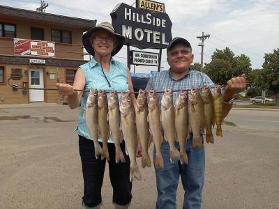South Dakota Missouri River Fishing 7/12/2013
