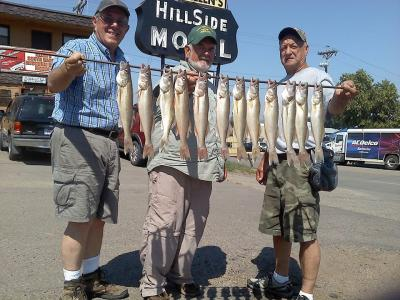 South Dakota Missouri River Fishing 8/27/2013