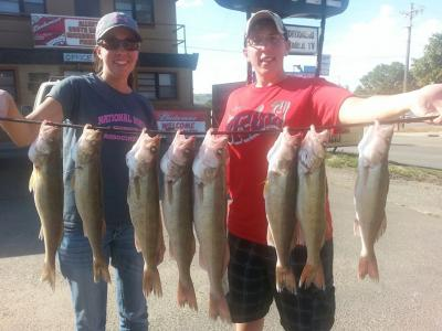 South Dakota Missouri River Fishing 8/31/2013