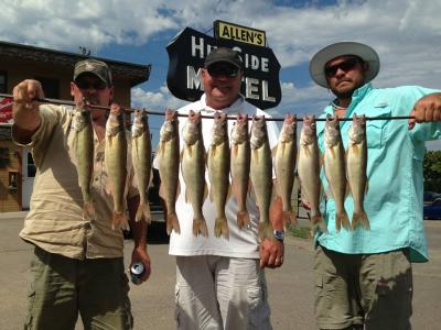 South Dakota Missouri River Fishing 9/5/2013