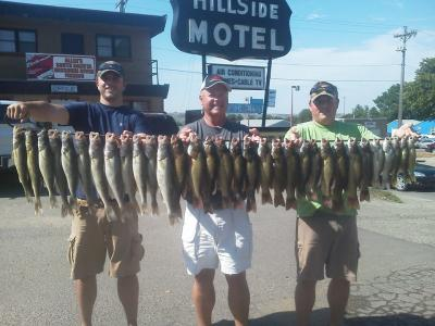 South Dakota Missouri River Fishing 9/6/2013