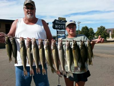 South Dakota Missouri River Fishing 9/11/2013