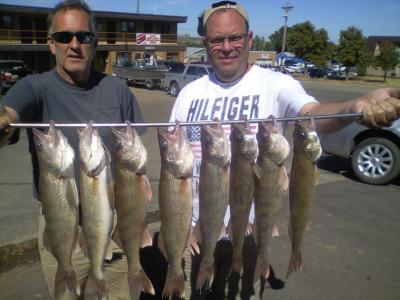 South Dakota Missouri River Fishing 9/13/2013