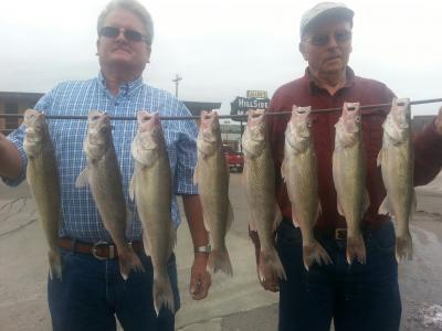 South Dakota Missouri River Fishing 9/17/2013