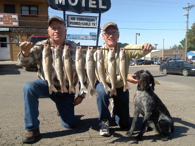 South Dakota Missouri River Fishing 9/21/2013