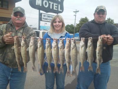 South Dakota Missouri River Fishing 9/27/2013