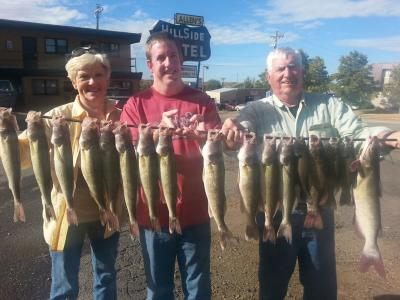 South Dakota Missouri River Fishing 9/30/2013