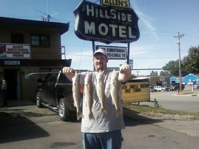 Missouri river Fishing 9/8/2011